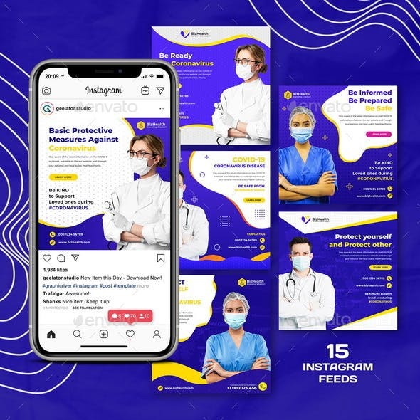 Medical Health Instagram Template
