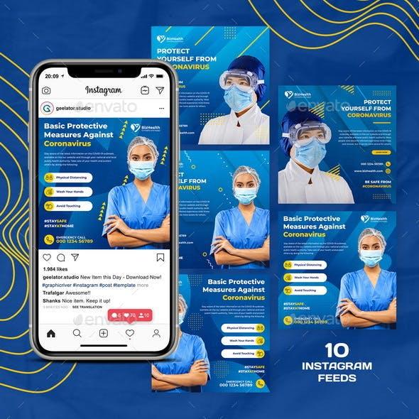 Medical Health Instagram Template
