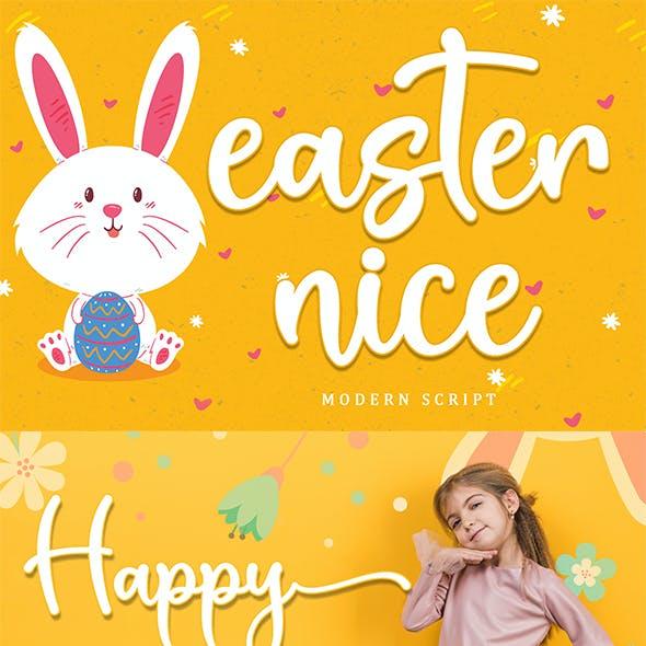 Easter Nice