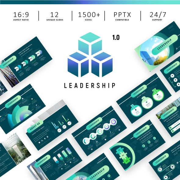 Leadership - Animated Power Point Presentation