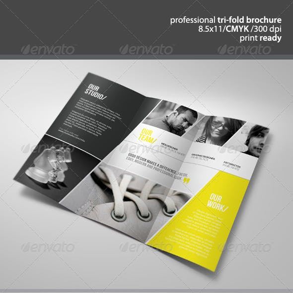 Unique Tri-Fold Brochure