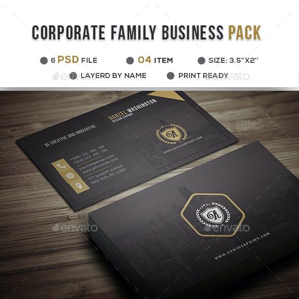 Corporate Family Bundle Vol: 03