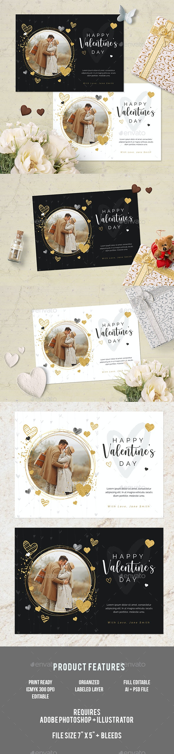Valentines Day Photo Card - Greeting Cards Cards & Invites