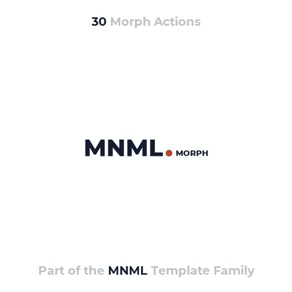 MNML MORPH - PowerPoint Presentation Template