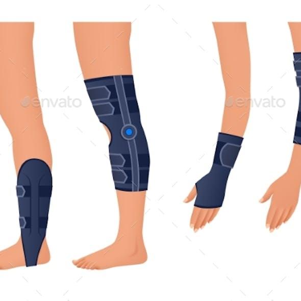 Injury Shoulder Arm Leg Back Osteoporosis