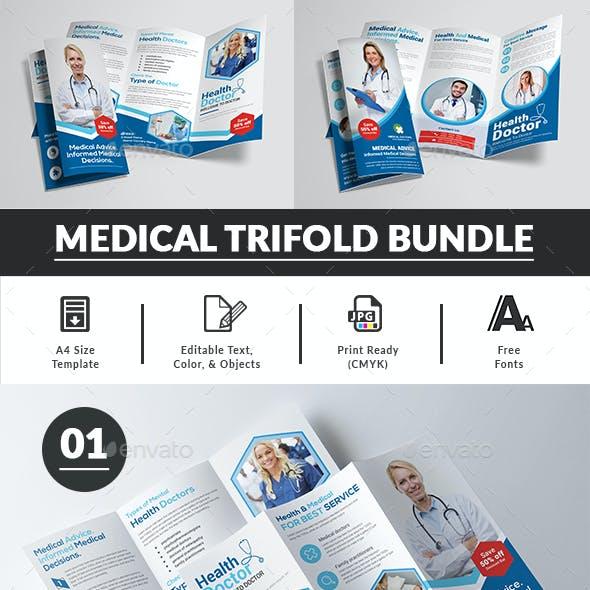 Medical Trifold Brochure Bundle