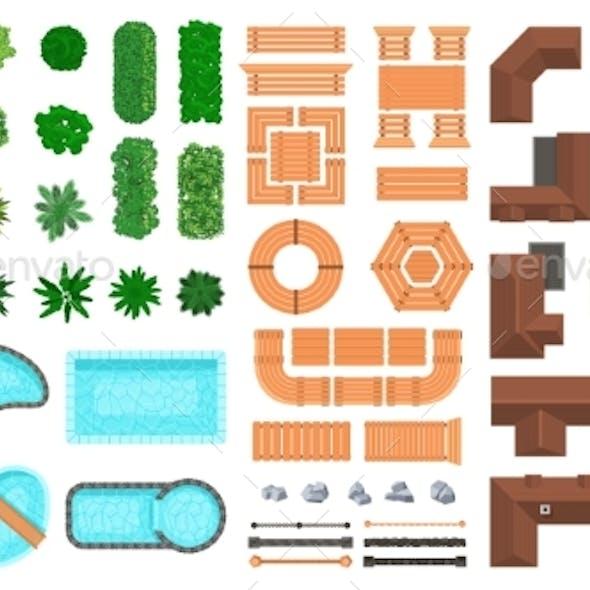Architectural Landscape Items