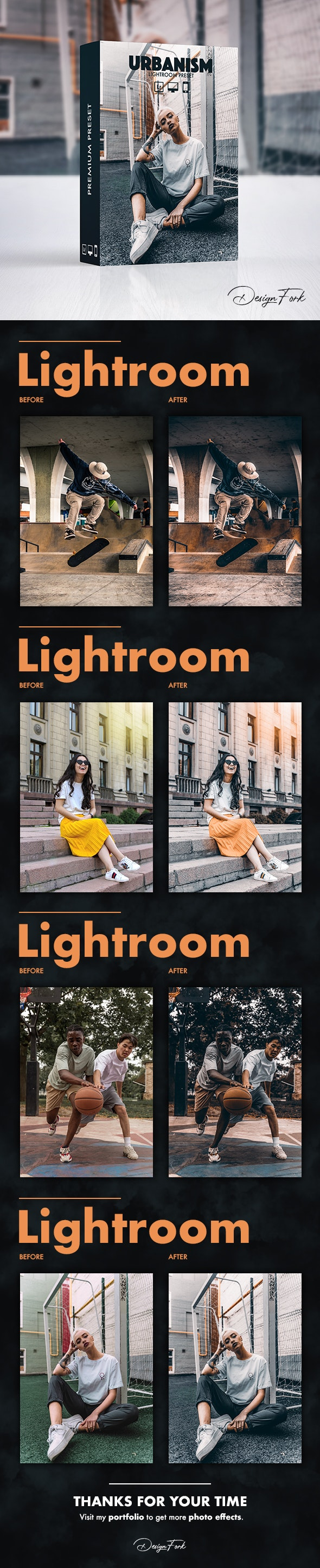Urbanism FX Lightroom Preset - Cinematic Lightroom Presets