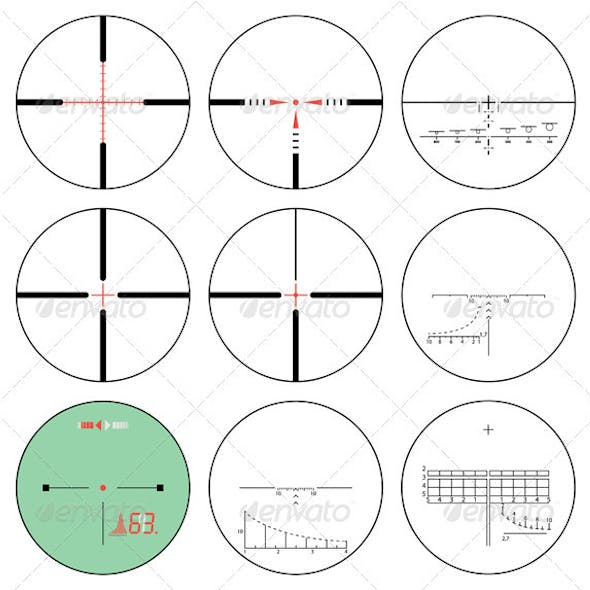 Reticles - Vector Set