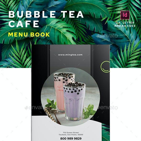 Bubble Tea Menu