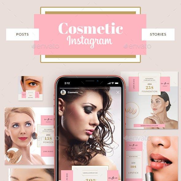 Cosmetic Shop Instagram