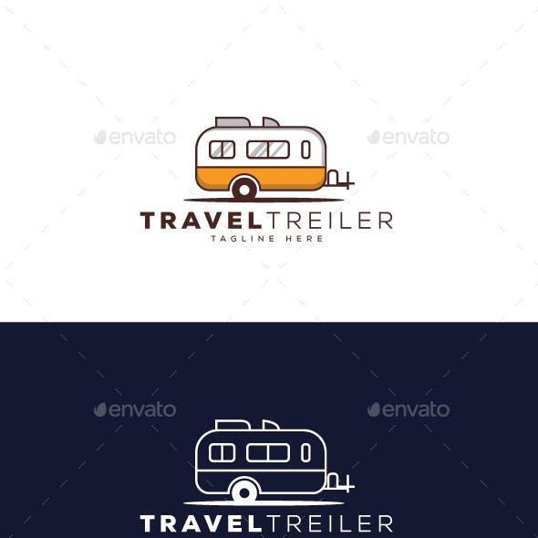 Travel Trailer Logo