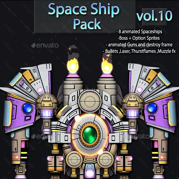 Space Ship Pack Vol.10