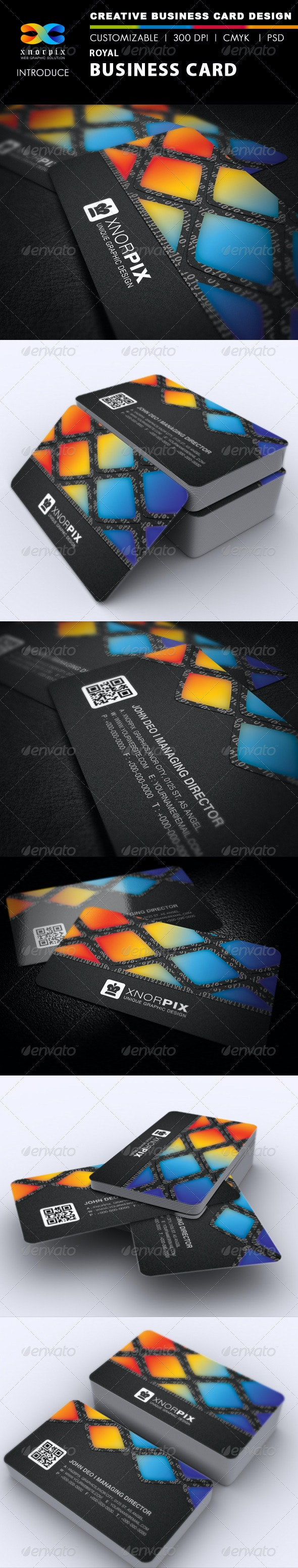 Paint Business Card - Creative Business Cards