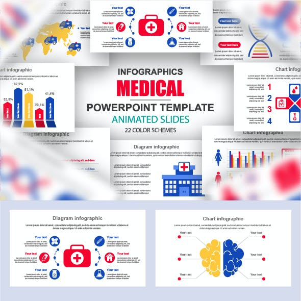 Medical Infographics PowerPoint Presentation Template