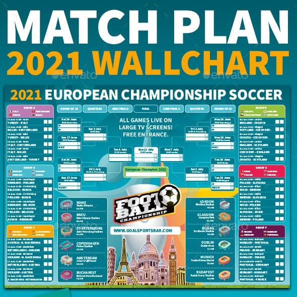 2020 / 2021 European Soccer Football Championship