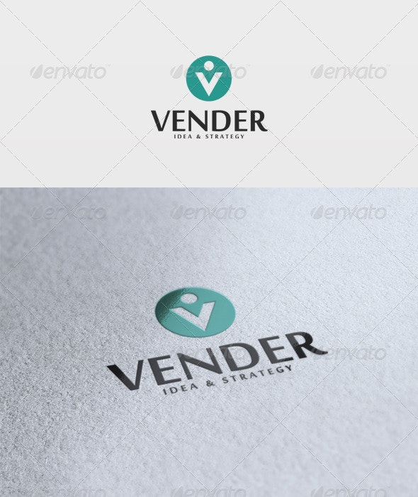 Vender Logo - Letters Logo Templates