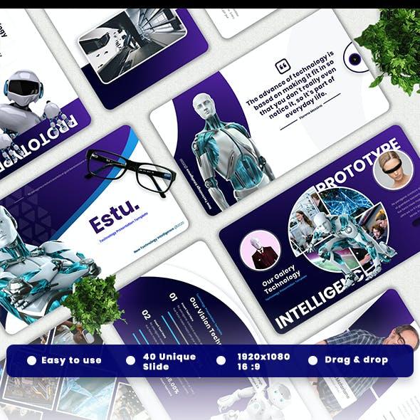 Estu - Technology Powerpoint Template