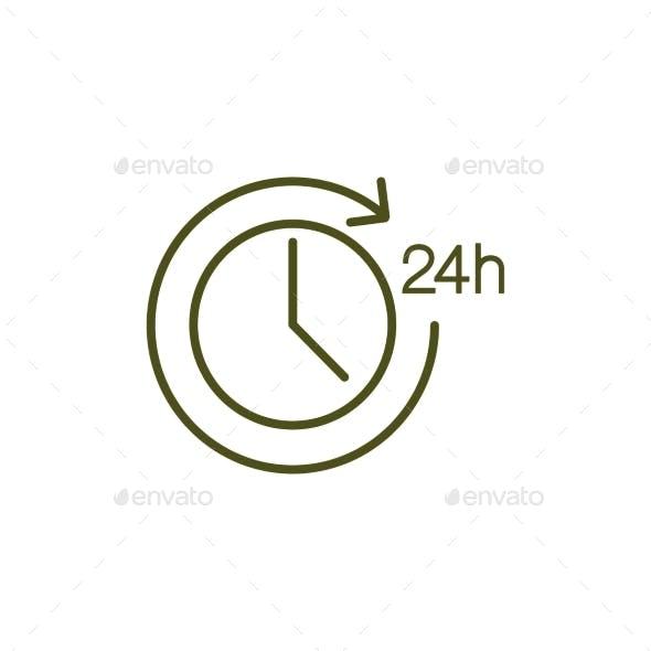 Clock Simple Icon