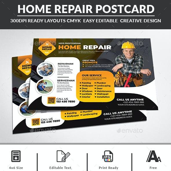 Home Repair Postcard