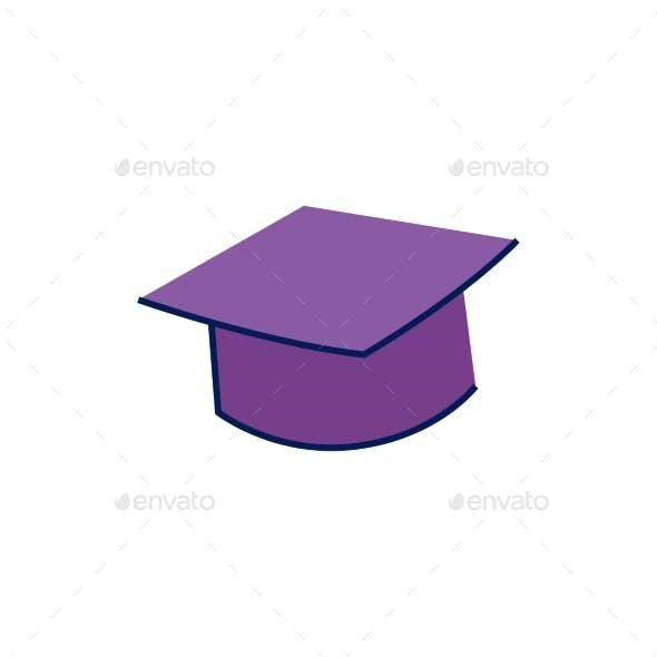Doodle Graduation Cap