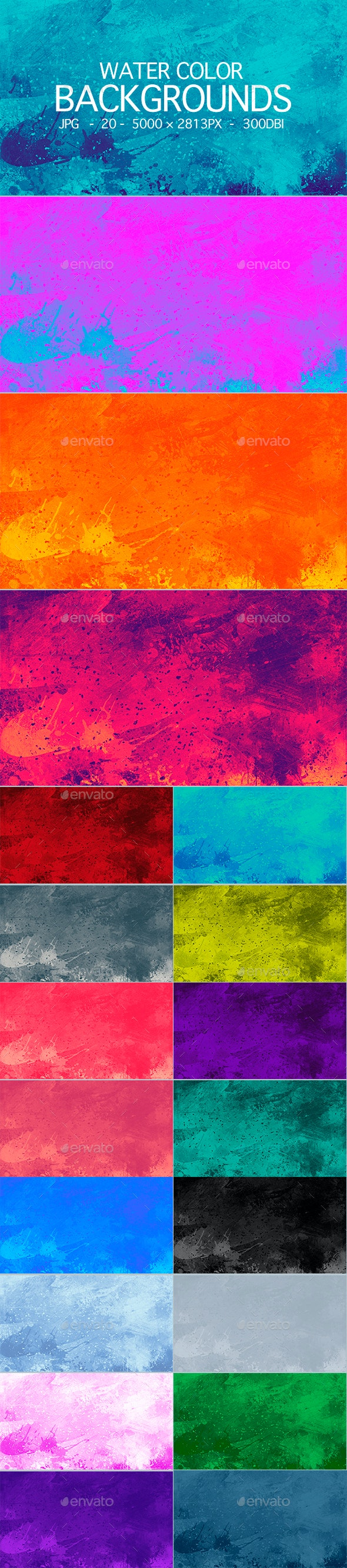 Paint Abstract Background - Backgrounds Graphics
