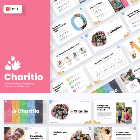 Charitio - Charity Foundation Powerpoint Template