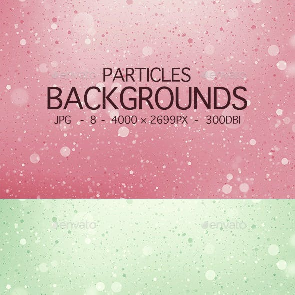 Particles Backgrounds
