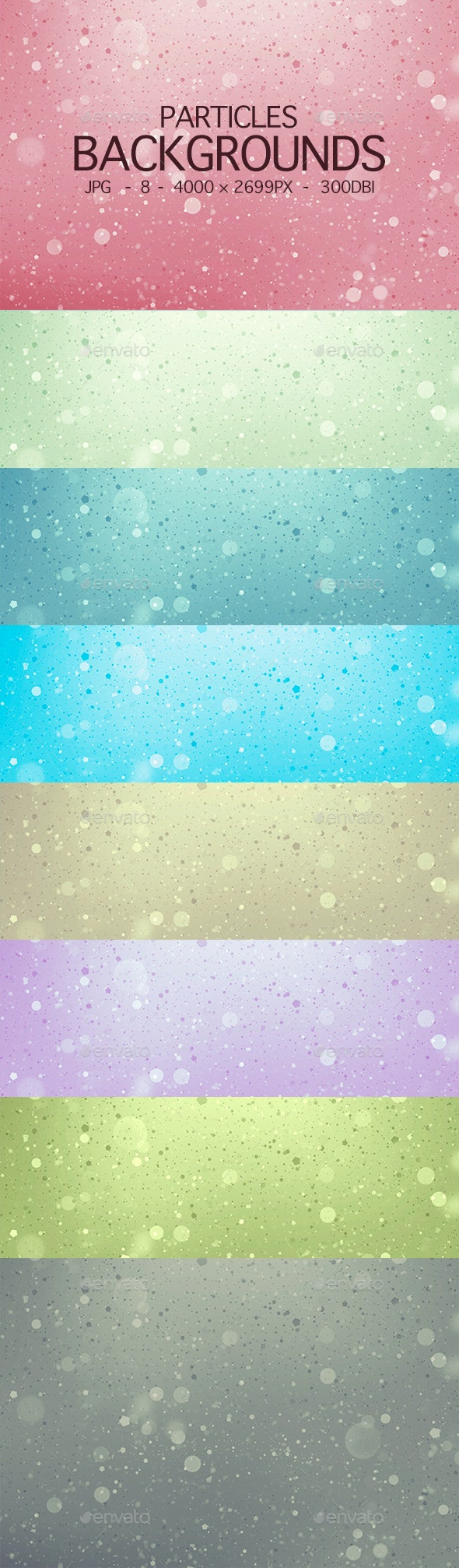 Particles Backgrounds - Backgrounds Graphics
