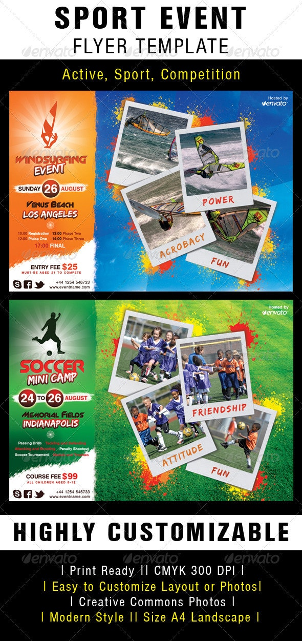 Sport Event Flyer Template - Sports Events