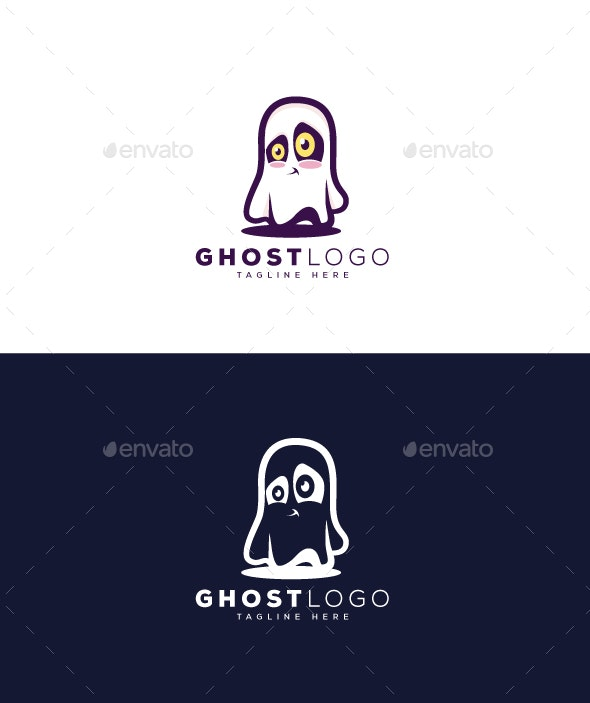 Ghost Logo - Vector Abstract