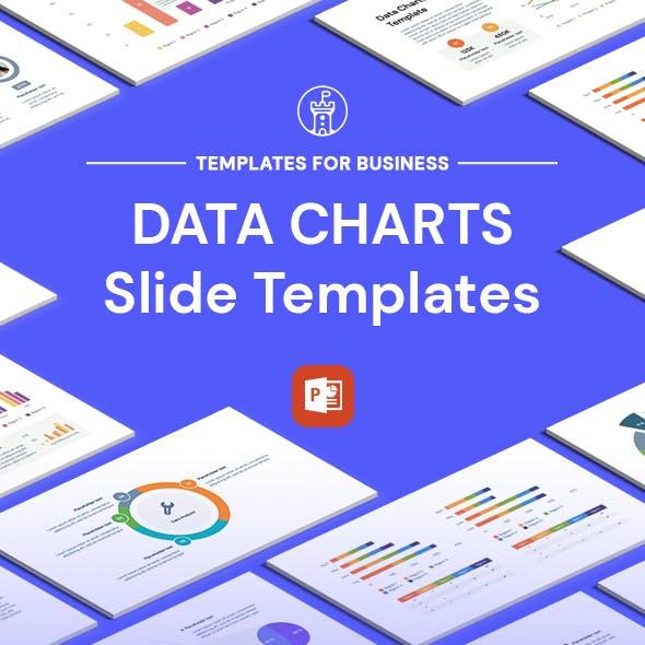 Data Chart Powerpoint Templates