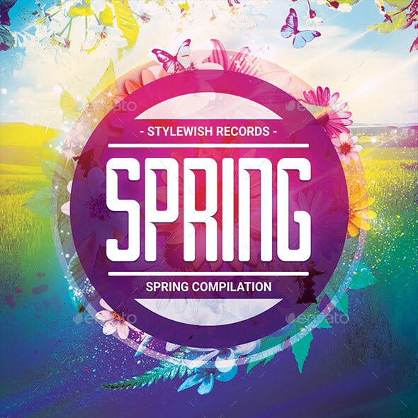 Spring CD Cover Artwork