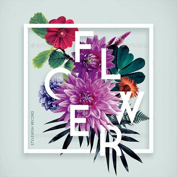 Flower CD Cover Artwork