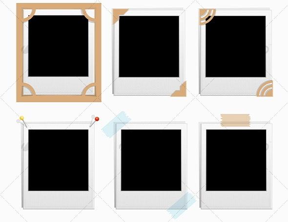 Snapshot Frames - Borders Decorative