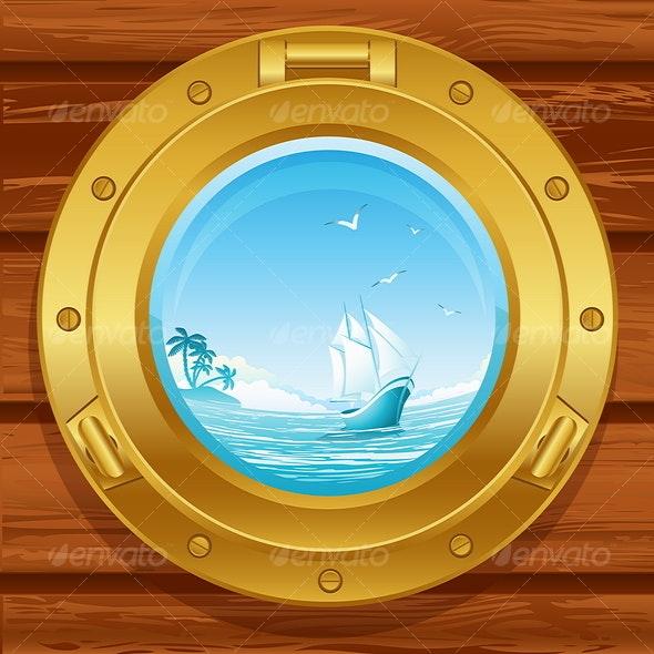 porthole - Backgrounds Decorative