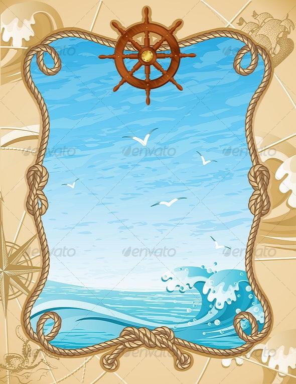 sailing background - Travel Conceptual