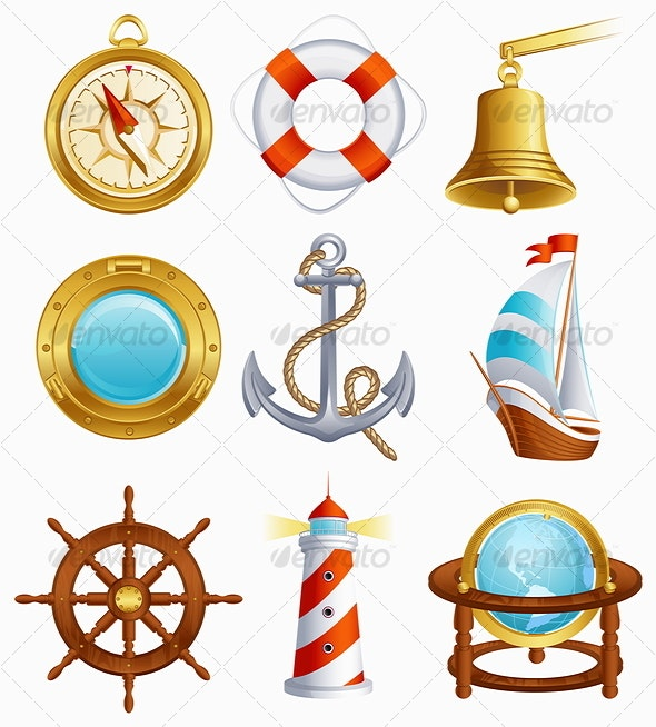 Sailing icon - Objects Vectors