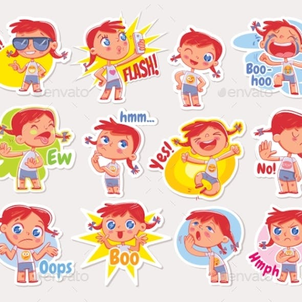 Stickers for Online Communication
