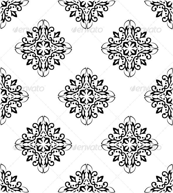 Ornate Seamless Pattern - Patterns Decorative