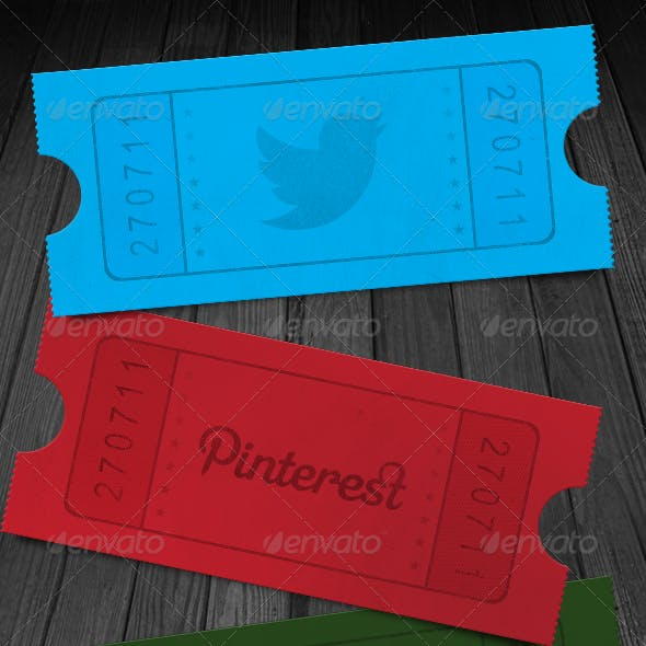 Social Media Ticket Stub