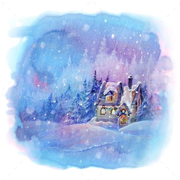 Winter Snow House