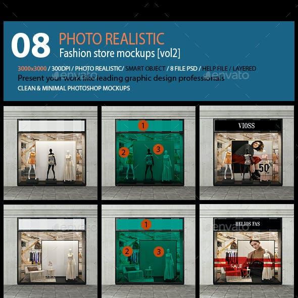 Fashion store mockups [vol2]