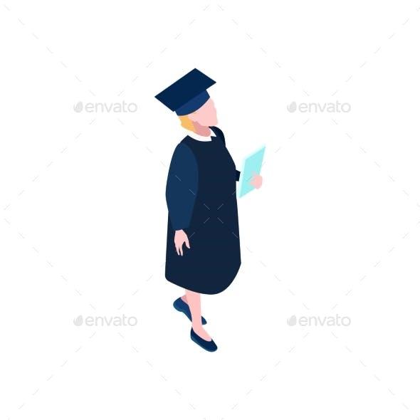 Graduating Student Icon