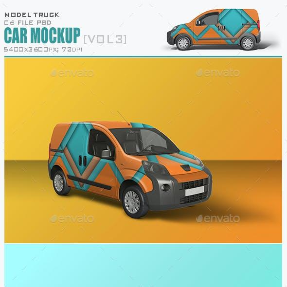 Car Mockup [Vol3]