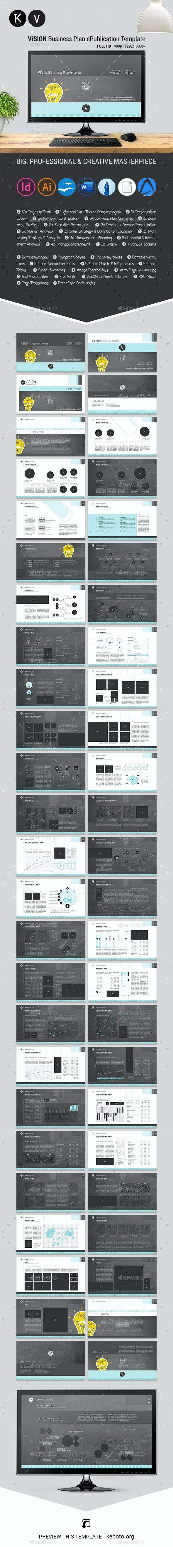 ViSION Business Plan ePublication Template - ePublishing