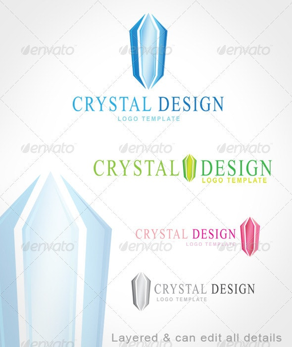 Crystal Design - Symbols Logo Templates