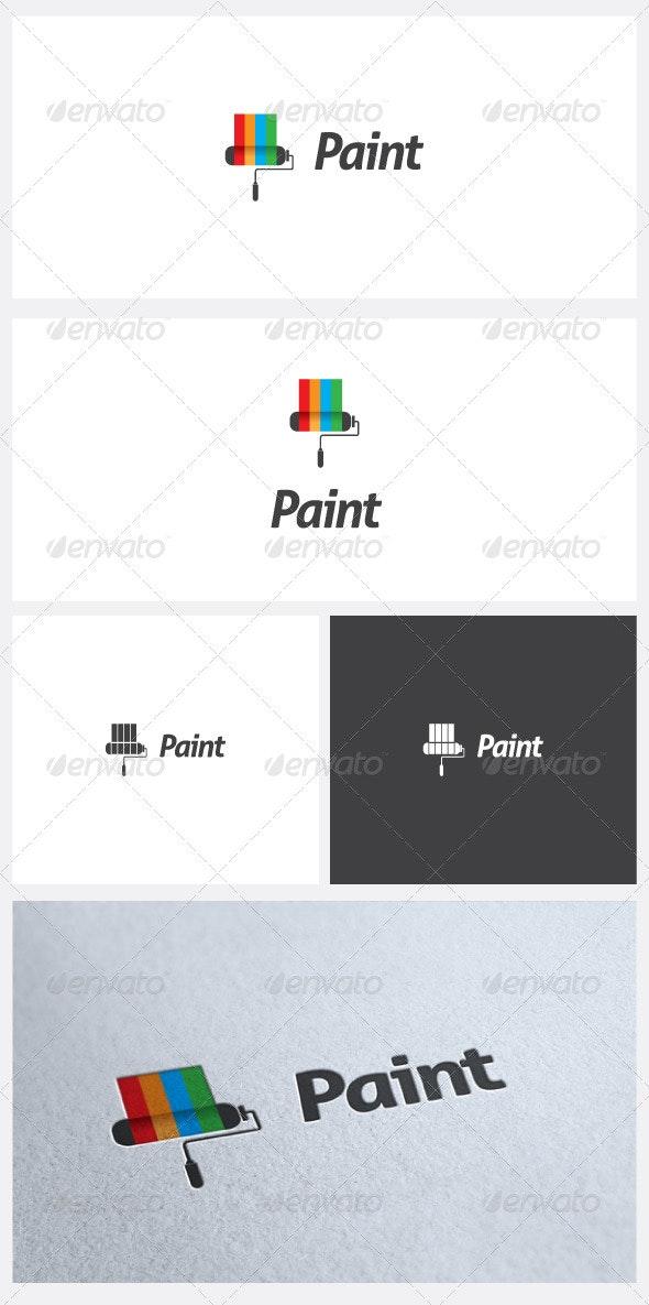 Paint Logo Template - Symbols Logo Templates