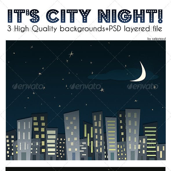 City Night Backgrounds