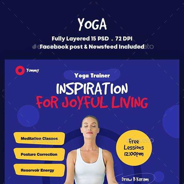 Yoga Banners Ad